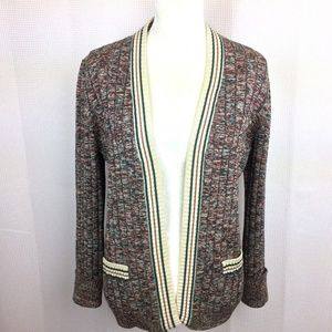 BANFF Gianni Ferri Long Sleeve Cardigan Sweater